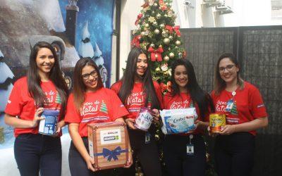 Campanha 'Laços de Natal' é lançada na Policlínica Cruz Preta/Engenho Novo
