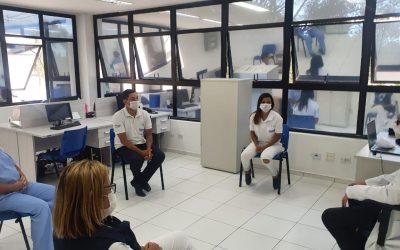 IBRAGESP oferece serviço de terapia para equipe da Policlínica Cruz Preta/Engenho Novo