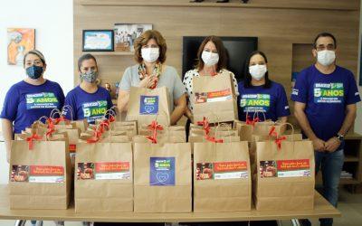IBRAGESP arrecada panetones e garante kits de Natal para 110 famílias carentes de Barueri